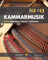 Kammarmusik 2012-2013 - Region Halland