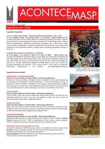 Exposições em Cartaz - Centro Universitário Belas Artes de São Paulo
