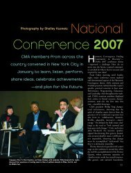 National Conference 2007 - Chamber Music America