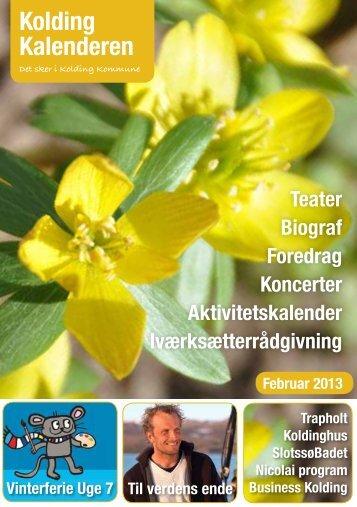 Kolding Kalenderen februar 2013 her (pdf) - Comwell Kolding