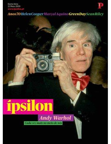 Andy Warhol - Fonoteca Municipal de Lisboa - Câmara Municipal de ...