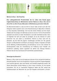 Profil von Marlene le Roux - bei der Deutschen Afrika Stiftung!