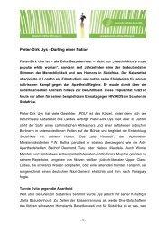 Profil von Pieter-Dirk Uys - bei der Deutschen Afrika Stiftung!