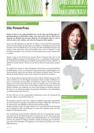 Die Powerfrau - bei der Deutschen Afrika Stiftung!
