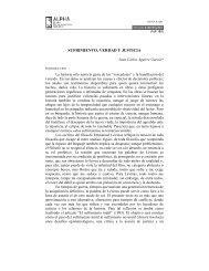 SUFRIMIENTO, VERDAD Y JUSTICIA - SciELO