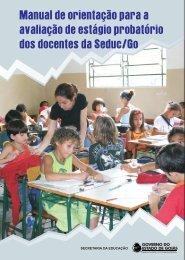 Manual do Estágio Probatório - Secretaria da Educação do Estado ...