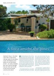 A finca amidst the pines - Ibiza