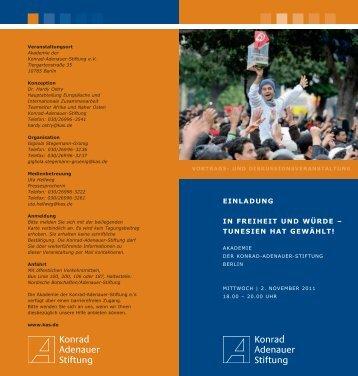 Die Einladung finden Sie HIER - bei der Deutschen Afrika Stiftung!