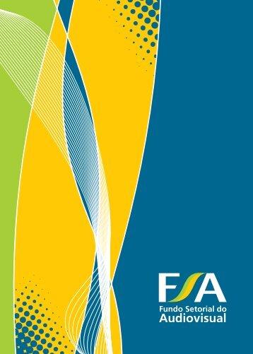 Folheto FSA - Fundo Setorial do Audiovisual - Ancine