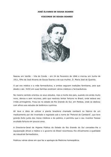 JOSÉ ÁLVARES DE SOUSA SOARES VISCONDE DE SOUSA ...