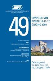 SIMPOSIO AFI RIMINI 10-11-12 GIUGNO 2009