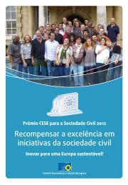Prémio CESE para a Sociedade Civil 2012 - Europa
