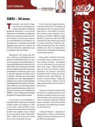 SIERJ – 30 anos - Sociedade de Infectologia do Estado do Rio de ...