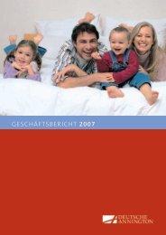 geschäftsbericht 2007 - Deutsche Annington