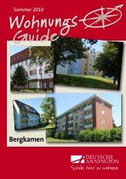 Wohnungsguide Bergkamen - Deutsche Annington