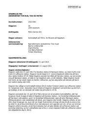 Afgørelse 2012-0301, 18. febraur 2013 - Ankenævnet for Bus, Tog ...