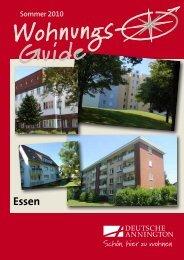 Wohnungsguide Essen [ PDF ; 661,6 KB ] - Deutsche Annington