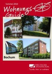 Wohnungsguide Bochum [ PDF ; 652,2 KB ] - Deutsche Annington