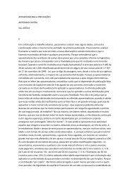 APOSENTADORIA A PRESTAÇÕES, ANTONINO CINTRA