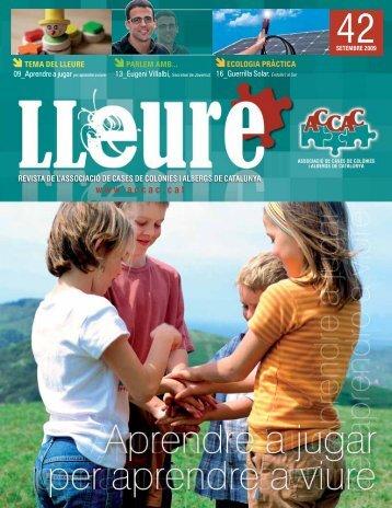 revista de l'associació de cases de colònies - ACCAC