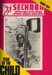 Sechaba August 1979 - DISA