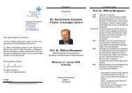 Prof. Dr. Wilfried Bergmann Prof. Dr. Wilfried Bergmann - Deutsche ...
