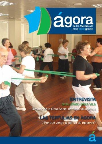 Nº 3 de la Revista 'Ágora' - Novacaixagalicia Obra Social