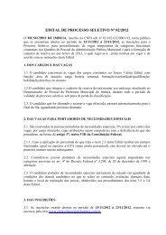EDITAL DE PROCESSO SELETIVO Nº 02/2012 - Click Soluções