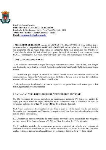 Edital 01/2012 RETIFICADO - Click Soluções