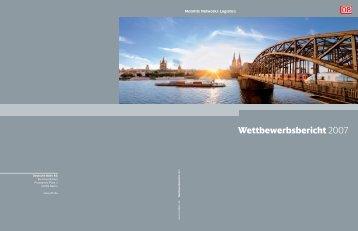 Wettbewerbsbericht 2007 - Deutsche Bahn  AG