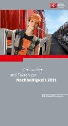 Kennzahlen und Fakten zur Nachhaltigkeit 2011 - Deutsche Bahn  AG