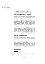 Zwischenmitteilung 2. Hj. 2008 - Deutsche Balaton AG