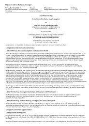 Freiwilliges öffentliches Erwerbsangebot (eigene Aktien) - Deutsche ...