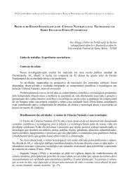 práticas de ensino-investigativas em ciências naturais e - Univates