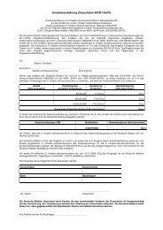 Annahmeerklärung Zinsscheine WKN 135475 - Deutsche Balaton AG
