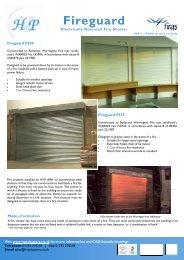 HVP Security Shutters - Brochure Fireguard Roller Shutters.pub