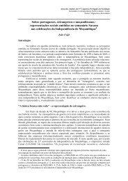 Sobre portugueses, estrangeiros e moambicanos - representaes ...