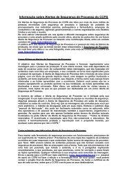 Julho_2010_Informação sobre Alerta de Segurança de Processo