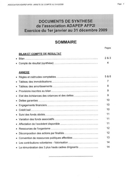 Documents De Synthese Journal Officiel
