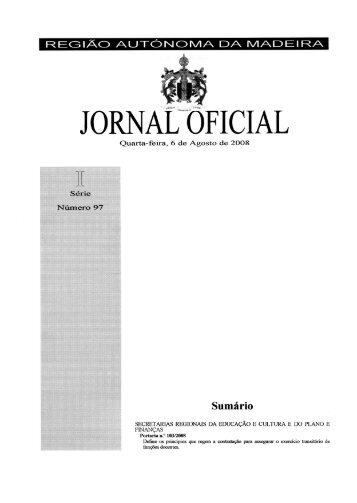 Portaria n.º 103/2008 - Secretaria Regional de Educação