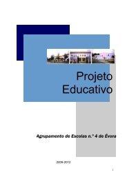 Projeto Educativo - Conde Vilalva