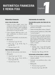 MateMática financeira e renda fixa - Livraria Martins Fontes