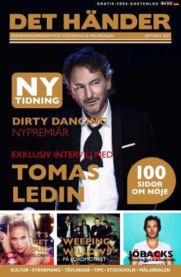 TOMAS LEDIN - Det Händer – Stockholm