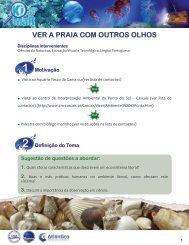 Ficha Ver a praia com outros olhos - Eco Escola Frei Estêvão Martins