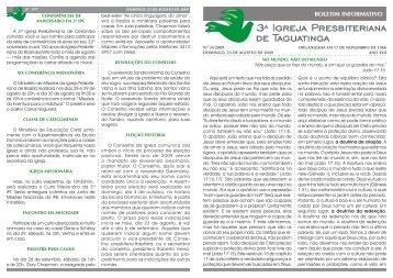 Versão em PDF - 3ª Igreja Presbiteriana de Taguatinga