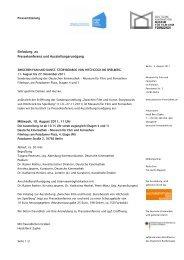 Pressekonferenz und Ausstellungsrundgang - Deutsche Kinemathek