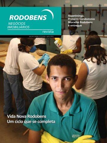 Vida Nova Rodobens Um ciclo que se completa - Revista Rodobens