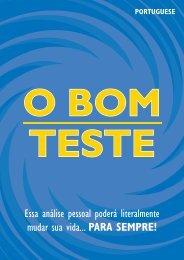 O BOM TESTE