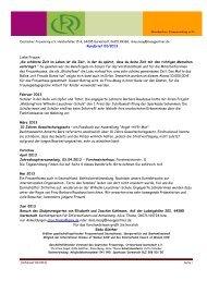 Rundbrief 2-2013 - Deutscher Frauenring eV