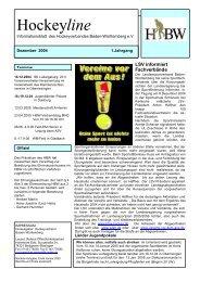 04 vom 17.12.2004 - Deutscher Hockey Bund e.V.